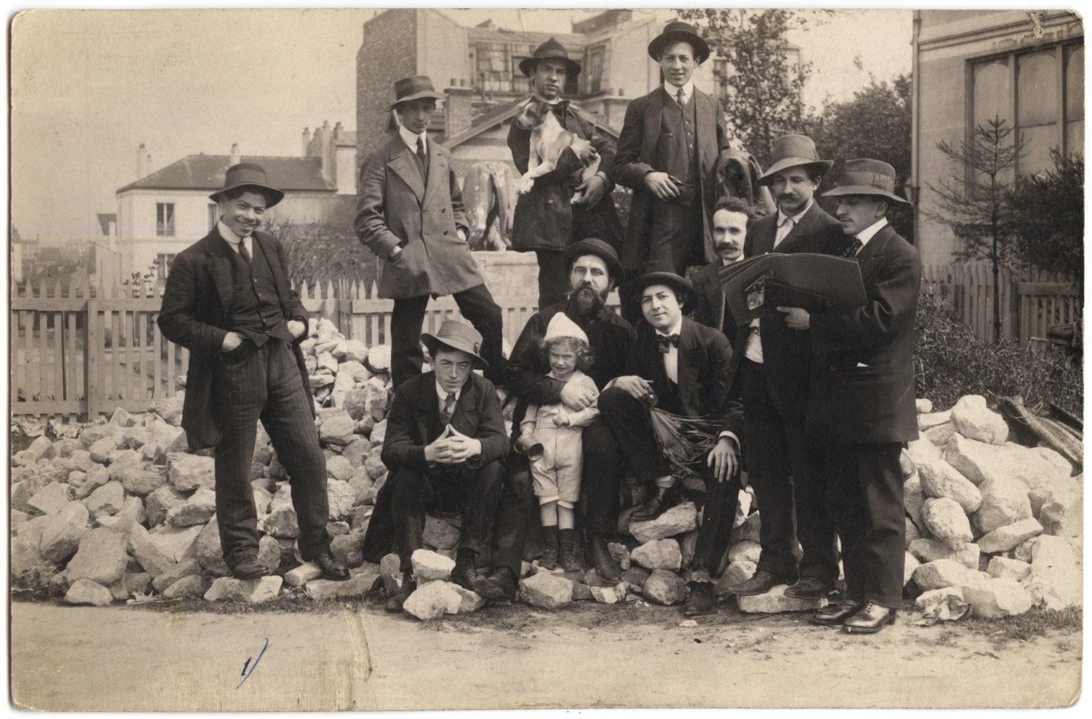 De nombreux artistes juifs ont vécu à la Ruche, dans le sud-ouest de Paris, au début du XXe siècle. / Crédit : Mahj