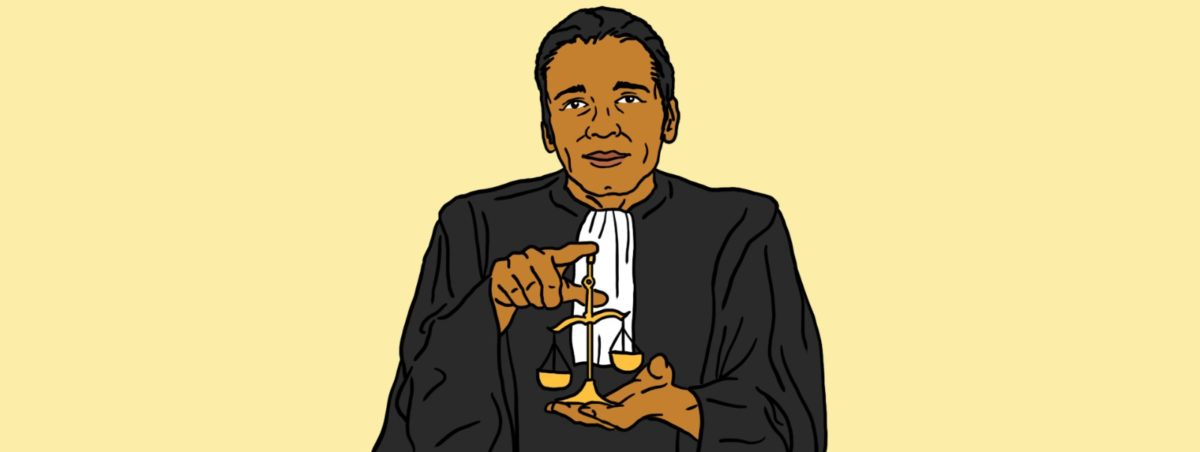 Aziber Seïd Algadi premier avocat tchadien du barreau de Paris