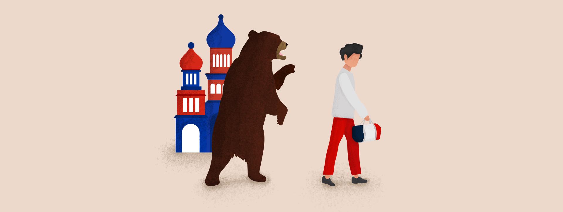 Diaspora russe : cent ans de fractures politiques